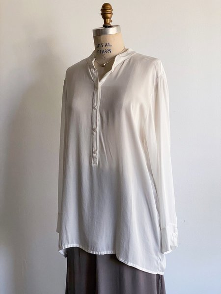 Private 0204 Silk Blouse - White