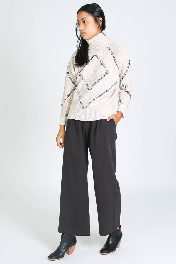 Antik Batik Sofian Sweater in Cream