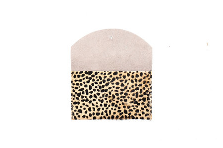 Primecut Cowhide Passport Clutch - Tiny Spotted