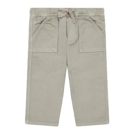 Kids Bonton Nauphin Denim Dulce De Leche Pants - Brown
