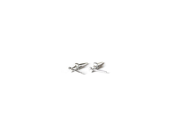 Elaine Ho - Talisman Tiny Dagger Earrings