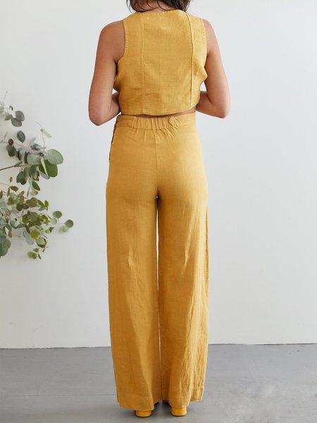 Sugar Candy Mountain Calla Pants - Mustard