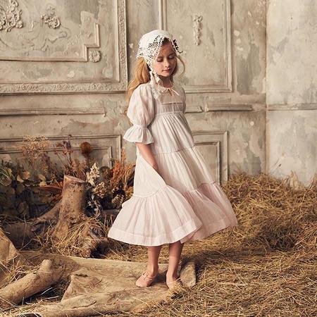 Kids Nellystella Adina Dress - Multicolour White