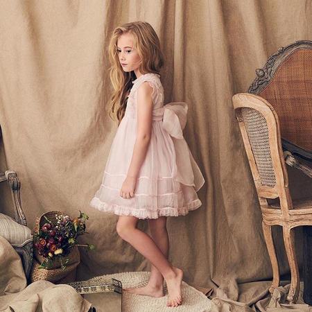 Kids Nellystella Flora Dress - Orchid Ice Pink