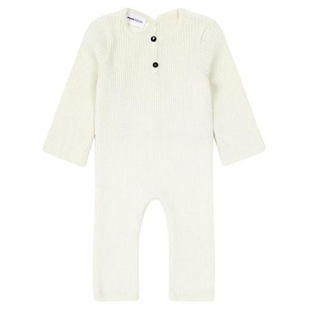 kids Pequeno Tocon Baby Long Sleeved Jumpsuit - Cream