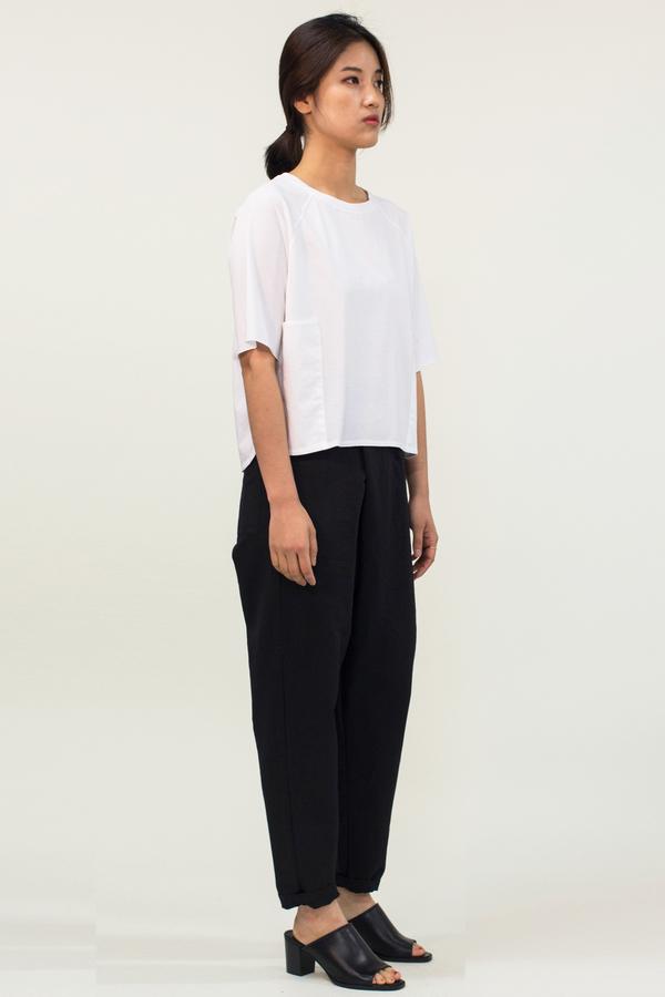 Universal Tissu Wrap Pants- Black