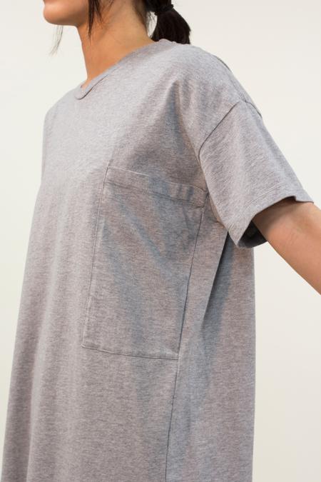 Universal Tissu Basic Tee- Gray