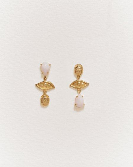 Pamela Love Teardrop Earrings