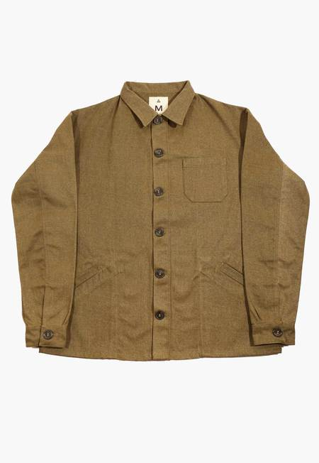 Deshal Canvas Chore Jacket - Hunter