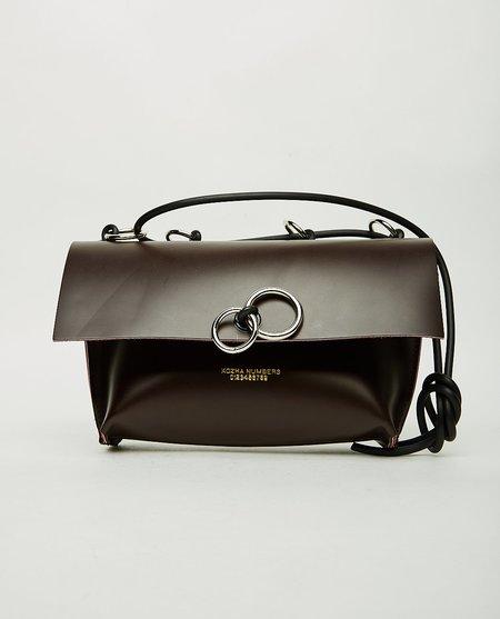 Kozha Numbers Orbit Bag - Burgundy