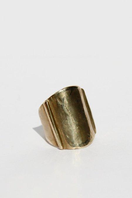 Annika Fine Sideline Ring - Brass