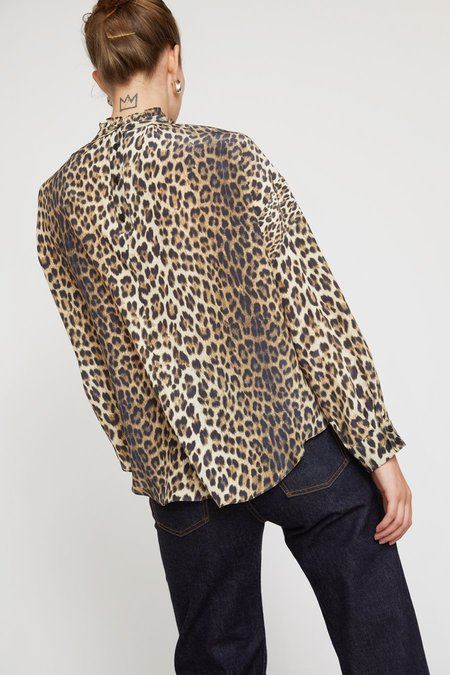 No.6 Callum Top - Leopard