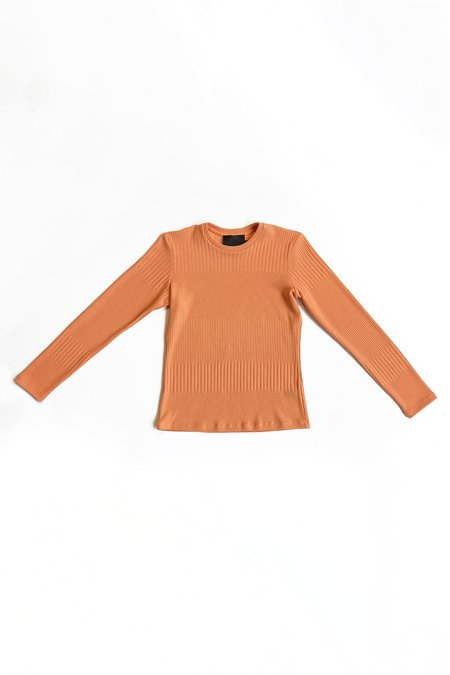 No.6 Stellan Crewneck Knit - Papaya