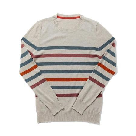 Bridge & Burn Tate Natural Multi Stripe Sweater
