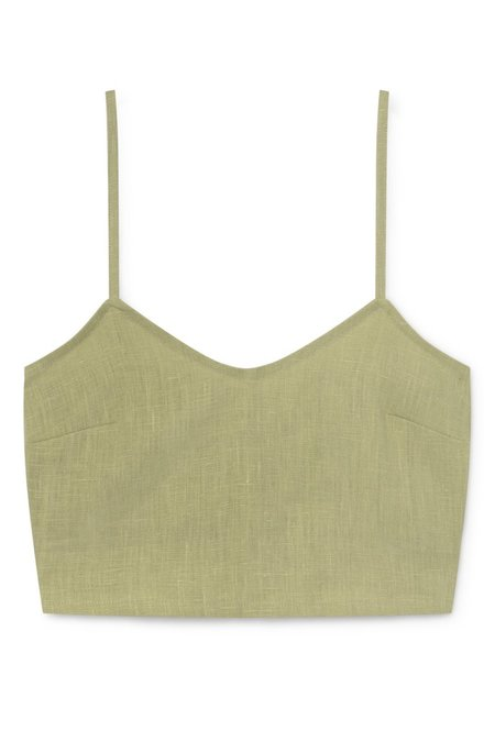 Paloma Wool Cairo Top - Pastel Lime