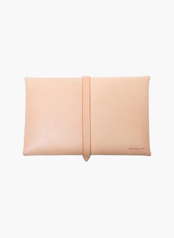 Woodlark Natural Envelope Clutch