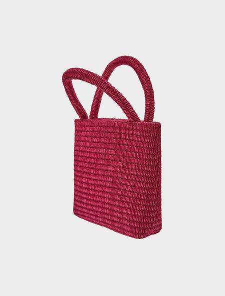 Paloma Wool Entenza Purse - Dark Fuchsia