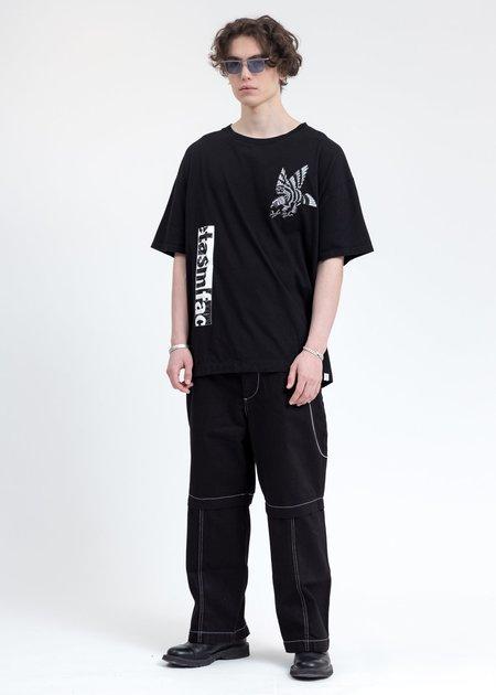 Facetasm Eagle T Shirt - Black