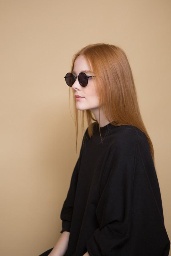 KOMONO Lennon Sunglasses / Matte Black