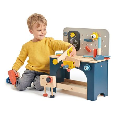 Kids Tender Leaf Toys Tabletop Tool Bench