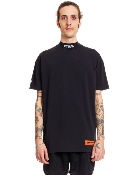 Heron Preston Cotton Ctnmb T-Shirt - Black