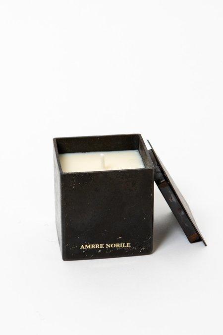 Mad et Len Ambre Nobile Black Block Candle