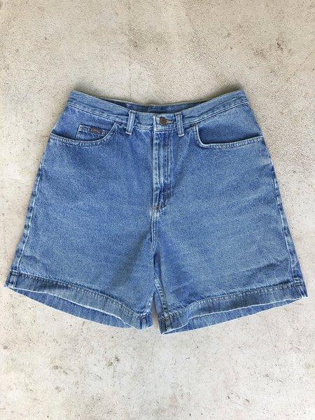 Preservation Vintage Riders Mid Length Denim Shorts