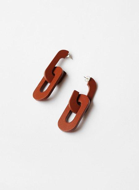 Meg Lumafina Dedalo Link Earrings