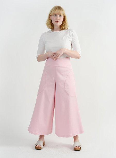 Meg Round Pocket Pant - Pink