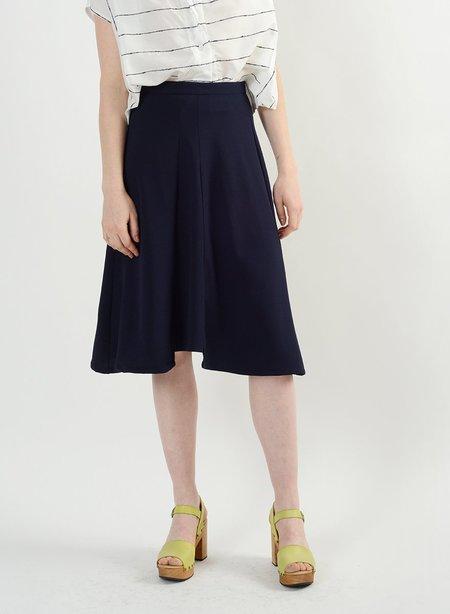 Meg Scuba Skirt - Midnight