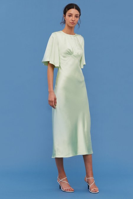 Cameo My Way Short Sleeve Dress - Citron