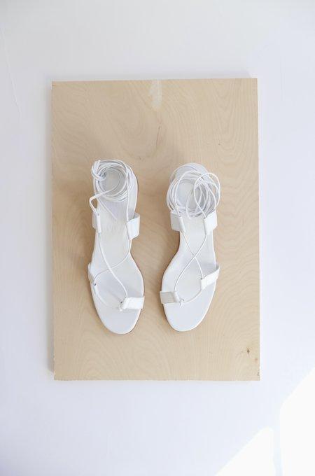 MARTINIANO PAVONE SANDAL - WHITE