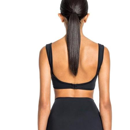 Beth Richards Ines Bikini Top - Black