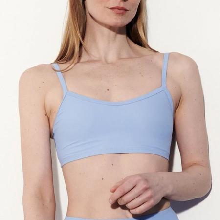 Nu Swim Liza Crop Bikini Top - Periwinkle