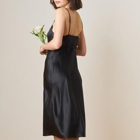 Only Hearts Silk Dress - Black