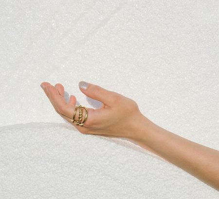 LUINY Trio Ring