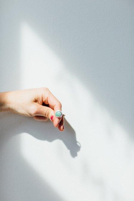 Christina Nicole Libre Chrysoprase Ring