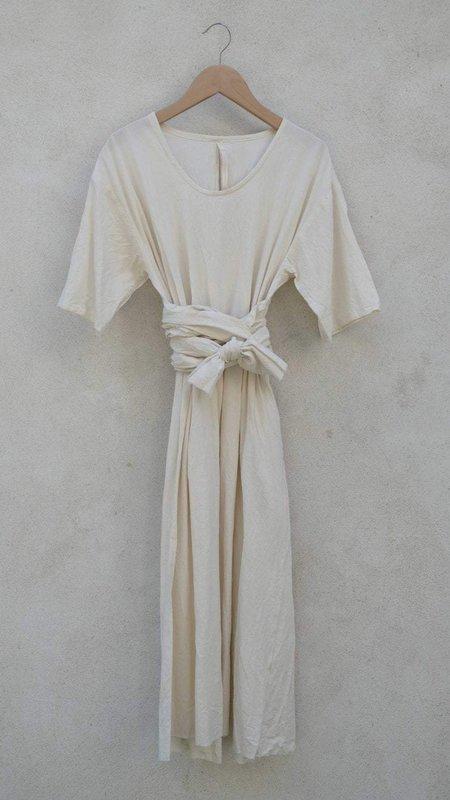 Elsa Esturgie Coco Dress - Ecru
