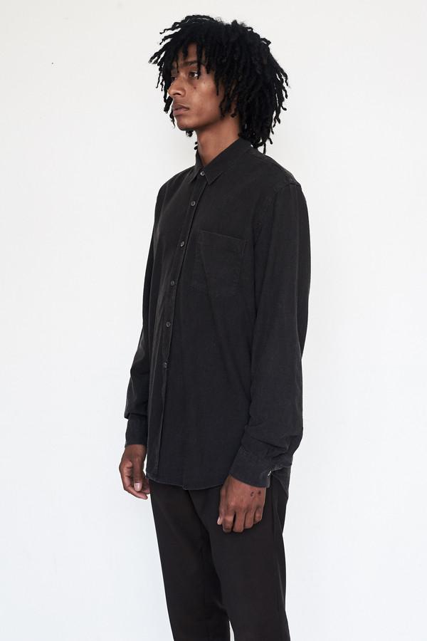 Men's Our Legacy Silk Classic Marron Shirt