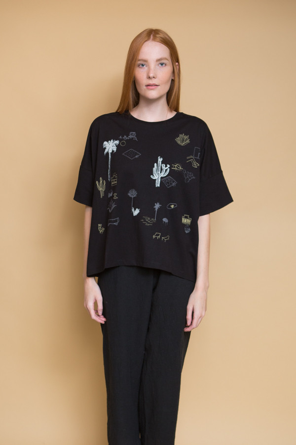 Kowtow On the Road Top - Black