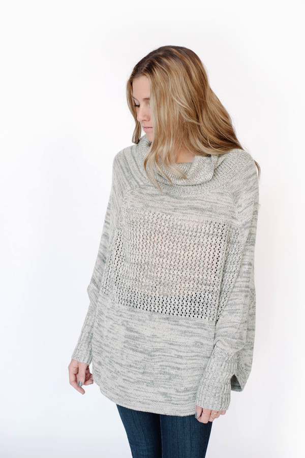 Sunday Supply Co. Cowl Neck Pullover
