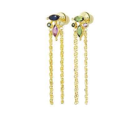 Marie Laure Chamorel Earrings - Gold Multicolor