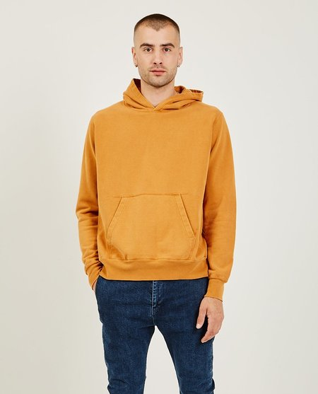 Remi Relief Special Finish Fleece Hoodie - Orange