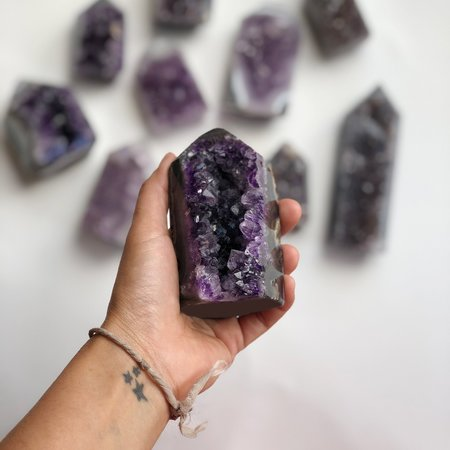 Meus Amethyst Points and Towers