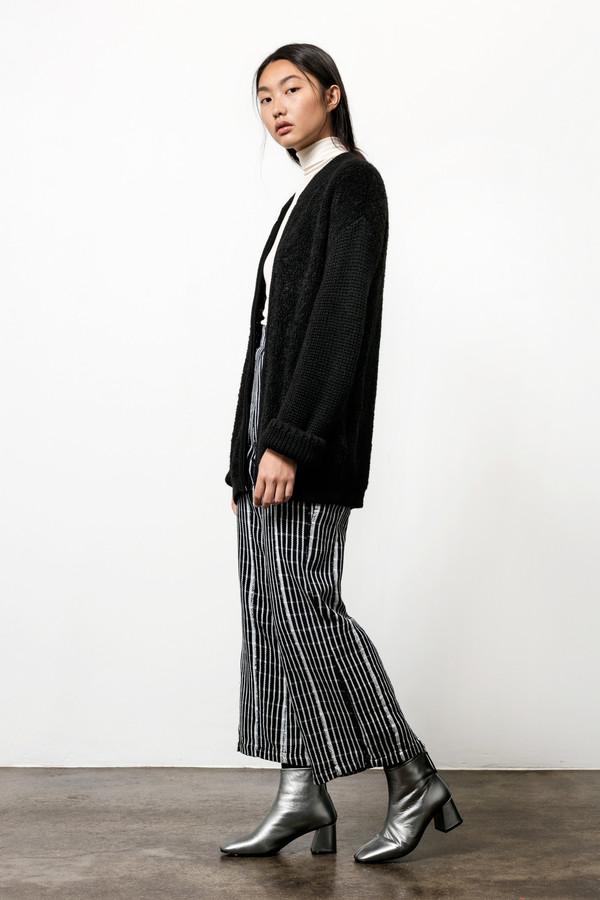 Osei-Duro Boucle Cardigan in Black