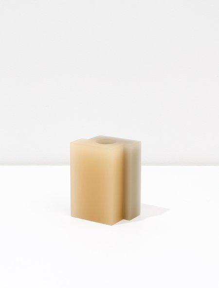 Dean Toepfer Small Vase Versa - Taupe/Melon