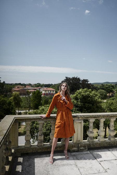 Alyson Eastman Estate Trench - Orange