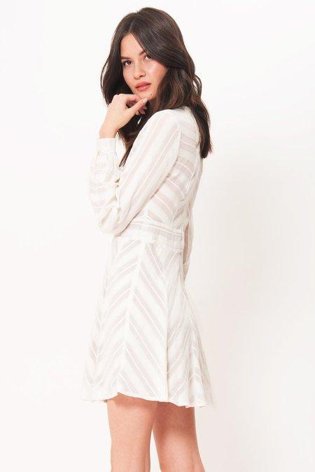 For Love & Lemons Alessandra Dress - WHITE