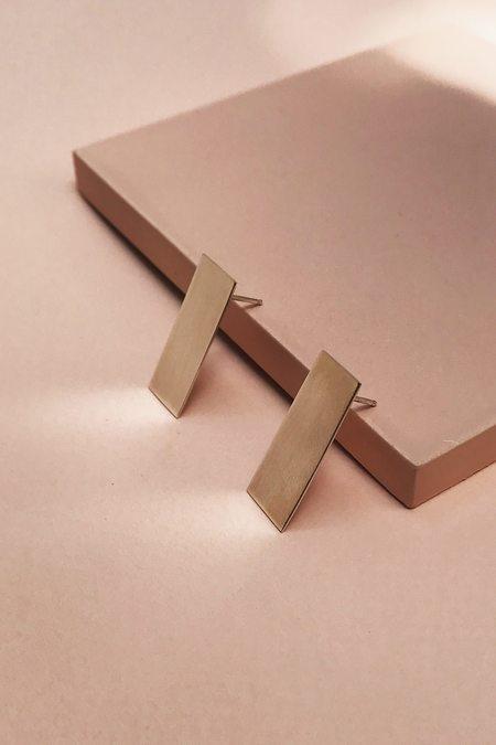 Tarin Thomas Mini Andie Earrings - Sterling Silver