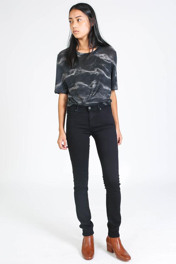 AG Jeans Prima black mid-rise skinny jean